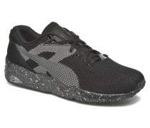 Trinomic R698 Knit Speckle Sneaker in schwarz