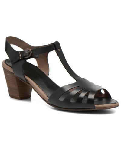 kickers damen seattle sandalen in schwarz reduziert. Black Bedroom Furniture Sets. Home Design Ideas