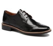 Newton perfo Box Schnürschuhe in schwarz
