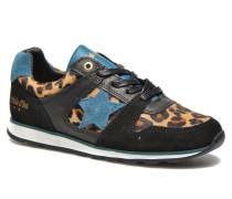 Lecce Low Sneaker in schwarz