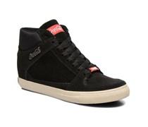 Tamy Suede Sneaker in schwarz
