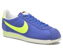 Classic Cortez Nylon Aw Sneaker in blau