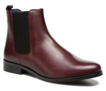 Broche Stiefeletten & Boots in weinrot