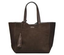 CABAS PARISIEN Croute velours Handtaschen für Taschen in braun