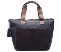 Mat&shinny tote Handtaschen für Taschen in blau