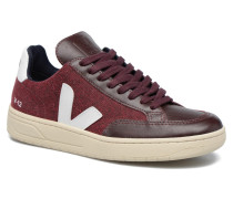 V12 PIXEL Sneaker in weinrot