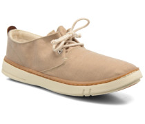 Earthkeepers Hookset Handcrafted Fabric Oxford Sneaker in beige