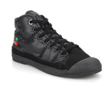 Basic 03 doune Sneaker in schwarz