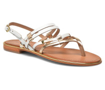 Cumin Sandalen in goldinbronze