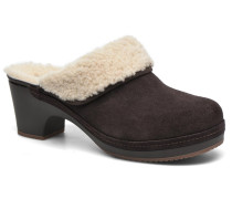 Sarah Luxe Lined Clog Clogs & Pantoletten in braun