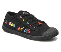 Basic 02 E Sneaker in schwarz