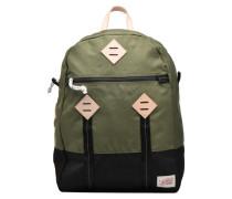 Colorblock Backpack Sporttaschen für Taschen in grün