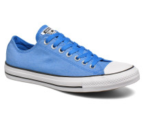 Chuck Taylor All Star Ox Chambray Sneaker in blau