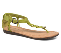 Carnival Thong Sandalen in grün