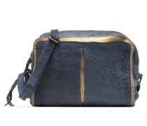 Ingelise Leather Crossbody Handtasche in blau