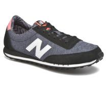 WL410 Sneaker in schwarz