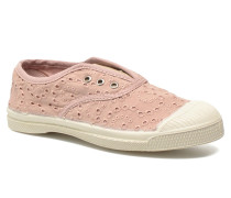 Tennis Elly Broderie Anglaise E Sneaker in rosa