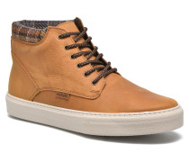 Bota Montaña PielinCuello H Sneaker in braun
