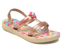 Kids Joy Spring Sandalen in goldinbronze