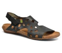 Wakataua N5061 Sandalen in schwarz