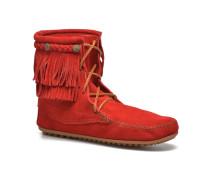 DOUBLE FRINGE TRAMPER Stiefeletten & Boots in rot