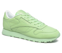 Cl Lthr Pastels Sneaker in grün