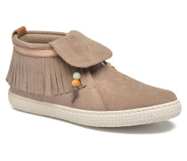 Botin Flecos Serraje F Sneaker in braun