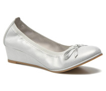 Edelweiss Pumps in silber