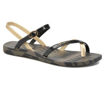 Fashion Sandal IV F Zehensandalen in schwarz