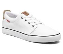 Justin Low Lace Sneaker in weiß