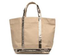 Cabas M Paillettes Handtaschen für Taschen in beige