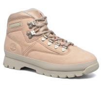 Euro Hiker Leather Schnürschuhe in rosa