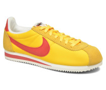 Classic Cortez Nylon Aw Sneaker in gelb