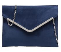 Pochette suédée M Handtaschen für Taschen in blau