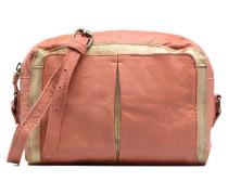 Jace Leather Crossover bag Handtaschen für Taschen in rosa