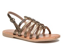 Mangue E Sandalen in goldinbronze