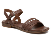 Cherrybrook Ankle Strap Sandalen in braun
