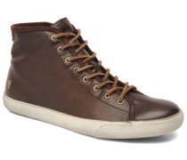 Chambers High Sneaker in braun