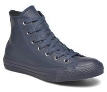 Chuck Taylor All Star HI Mono Leather W Sneaker in blau