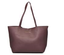 CHIVAinGR Cabas Cuir Handtaschen für Taschen in weinrot