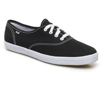 Champion Canvas Sneaker in schwarz