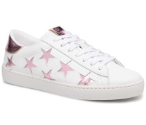 Deportivo Laser Estrellas Sneaker in rosa