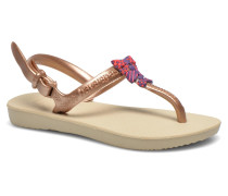 Kids Freedom Sandalen in goldinbronze