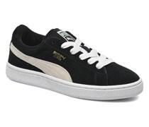 Suede Jr. Sneaker in schwarz