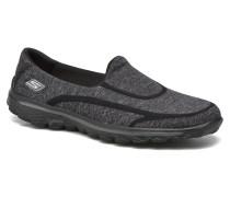 Femme Go Walk 2 Super Sock 13955 Sportschuhe in schwarz