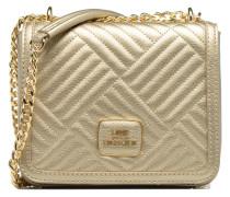 Crossbody Chaine Shiny Quilted Handtaschen für Taschen in goldinbronze