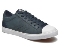 Baseline Court Leather Sneaker in blau