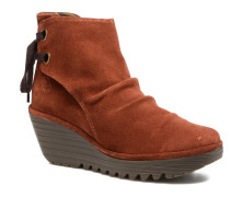 Yama Stiefeletten & Boots in orange