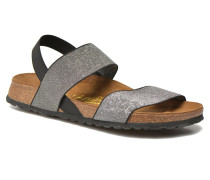 Caterina Stretch W Sandalen in silber