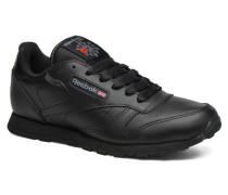 Classic Leather Sneaker in schwarz